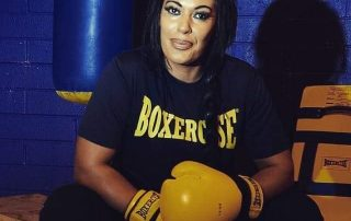 Boxercise Instructor Kellyanne