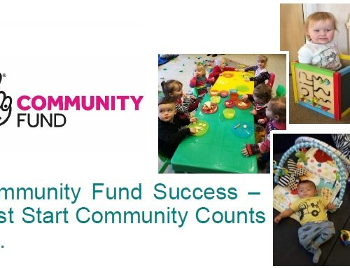 Community Fund Success – Best Start Community Counts too.