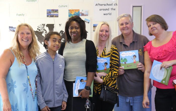 Group photo at book Launch of