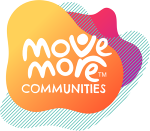 Logo saying Move More Communities